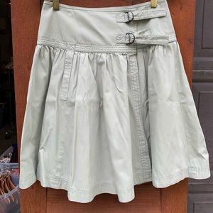 Fei very light minty color skirt